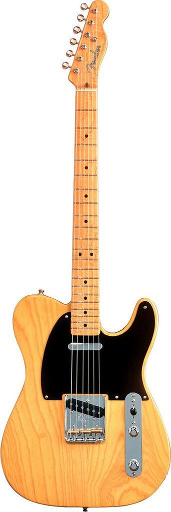 Электрогитары Fender AMERICAN VINTAGE '52 TELECASTER MNBUTTERSCOTCH BLONDE в музыкальном магазине.